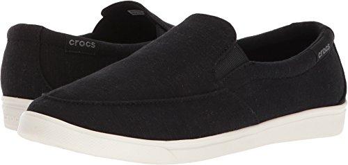 Crocs Women's Citilane Low Slipon W Sneaker, Black, 5 M US