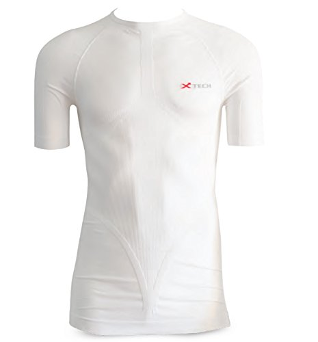 XTech T-Shirt Manica Corta Intimo Sport Unisex Bianco L-XL