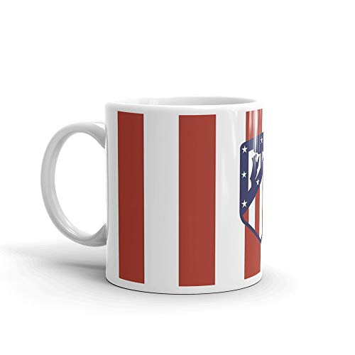 (Crest - AtlÃÂtico Madrid Mug 11 Oz White Ceramic)
