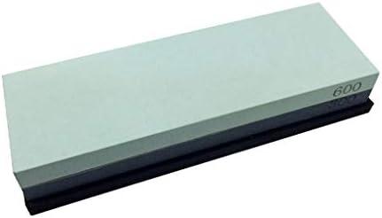 SGMYMX砥石 砥石、300分の600両面石石油が砥石 - ゴムフレームを備え、 ウェット砥石