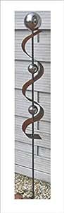 Jardín Conector ST100oxidado escultura oxidado (óxido teelen oxidado Jardín