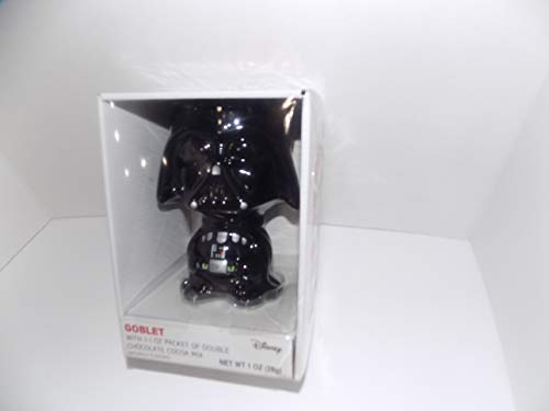 Star Wars Stormtrooper Black Goblet with 1-1 oz. packet of Chocolate fudge cocoa mix