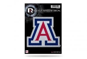 Arizona Wildcats Glitter Die Cut Vinyl (Wildcats Glitter)