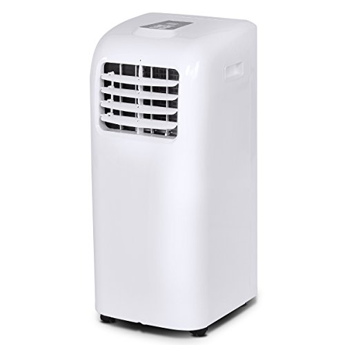 COSTWAY Portable Air Conditioner with Remote Control Dehumid
