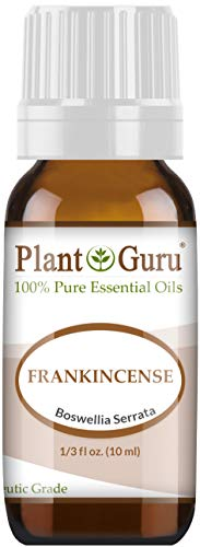 Frankincense Essential Oil 10 ml 100% Pure Undiluted Therapeutic Grade Extract of Boswellia Serrata, Great for Aromatherapy Diffuser, Supports Joint Health and More.