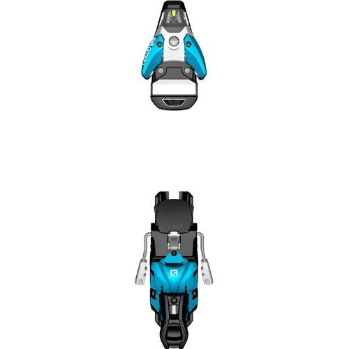 Salomon STH2 16 Ski Bindings - Black/Blue - (130mm) - 2014