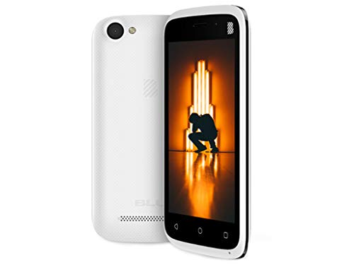 Blu Advance L4 Android Cell Phone V 8.1 Oreo (Go Edition) 8GB GSM Smartphone 3G(White)