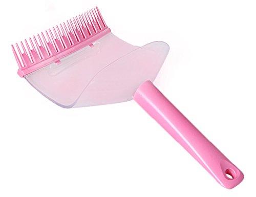 THEE DIY Hair Bangs Strip Cutting Comb Clip Brush Cutting Tool Hairstyle