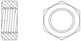 Brennan Nut - 1/2 Inch JIC 37° Flare, (SAE) 3/4-16 Thread, Steel (52 Units)