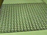 ステンレス、、角網(正方形)300x300㎜、2枚、ダイヤモンドスタ―社製、竹炭5枚付 B07479MF2V