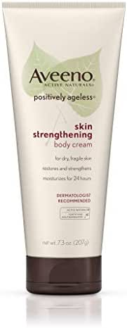 Body Lotions: Aveeno Positively Ageless Skin Strengthening Body Cream