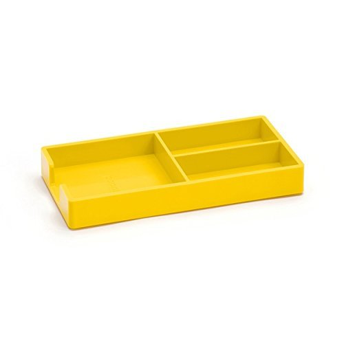 yellow desk tray - 3