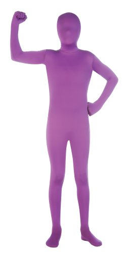 Morph Costumes For Kids (Child's Purple Second Skin Suit, Large)