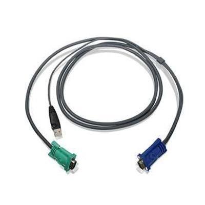New - Bonded Kvm Cable, USB, VGA, 10 Feet - G2L5203Utaa