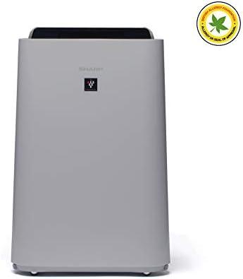Sharp UA-HD40E-L Purificador de aire con tecnología Plasmacluster-Ion, función humificador, tres niveles de filtro: prefiltro, olores y HEPA, sensor de polvo, humedad y temperatura, hasta 26 m2: Amazon.es: Hogar