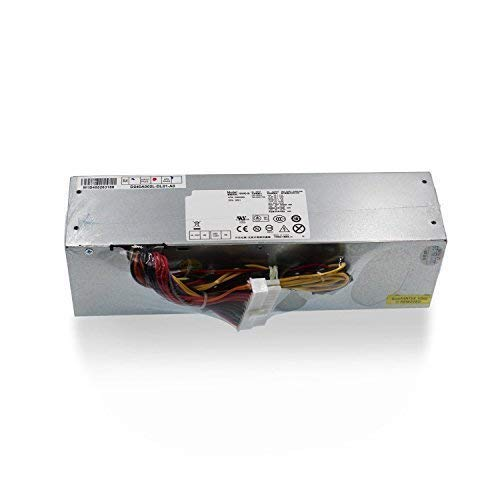 Mackertop 240W Desktop Power Supply Unit PSU Replacement for Dell OptiPlex 390 790 990 3010 7010 9010 (Small Form Factor) SFF Systems H240AS-00 AC240AS-00 L240AS-00 AC240ES-00 H240ES-00 Series (Optiplex 790 Power Supply)