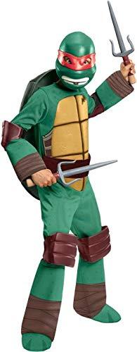 Teenage Mutant Ninja Turtles Deluxe Raphael Costume, Large ()