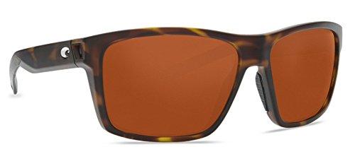 Costa Del Mar Slack Tide Sunglasses Matte Tortoise/Copper 580Plastic