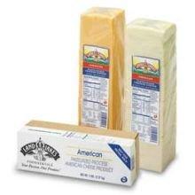 Land O Lakes Sharp American Yellow Process Cheese Slice, 5 Pound -- 6 per case.