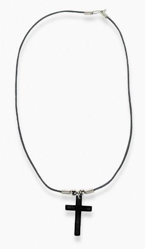 Fun Express Hematite Cross Necklaces