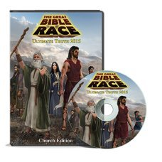Great Bible Race Board Game