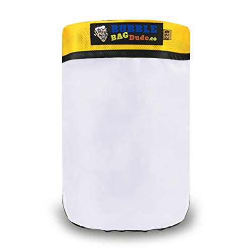 BUBBLEBAGDUDE 220 Micron Zipper Bag for 5 Gallon Bubble Machine Ice Now Magic - Herbal Extractor - From Bubblebagdude Offer Reusable Durable Quality Bag