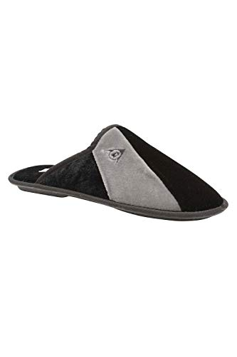Dunlop Mens Dunkirk Slippers - Black - UK9