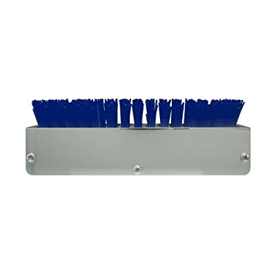 Grand General 98991 Chrome Aluminum Boot Caddie with Blue Brush: Automotive
