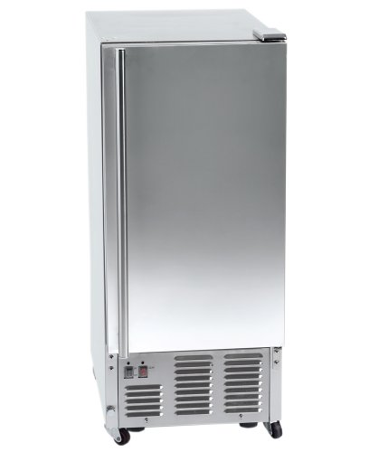 Orien 44 lb Outdoor Stainless Steel Ice Maker