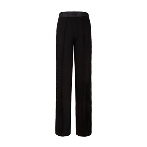 - PYJTRL Boys' and Men's Latin Dance Pants (Waist (90 cm) 35.4 inch X Length 43.3 inch, Black)