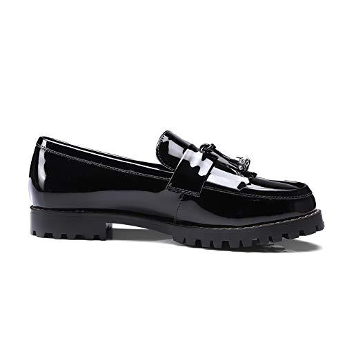uretano Flecos Para Mms06506 Con De Informales Negro Senderismo 1to9 Zapatillas Mujer 1nIYP8xWWF