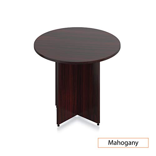 GOF 36'' Round Table (36W x 36D x 29.5H), Cherry, Espresso, Mahogany, Walnut (Mahogany) by GOF (Image #1)
