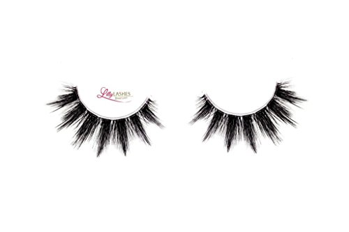 Lilly Lashes 3D Faux Mink Silk Lashes In Style Believe By Kim Zolciak Biermann   Invisible Band