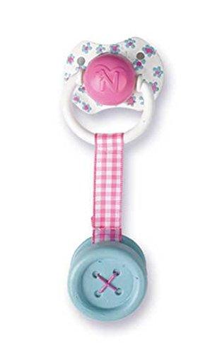 Nenuco - Chupete con botón, Color Azul (Famosa 700011201)