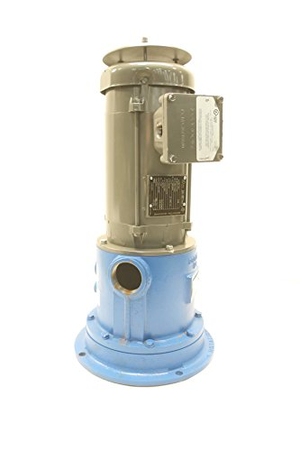 GOULDS 20EVP-17A3 VERTICAL IN-LINE CENTRIFUGAL PUMP 2HP 230/460V-AC D593420 - Vertical In Line Centrifugal Pump