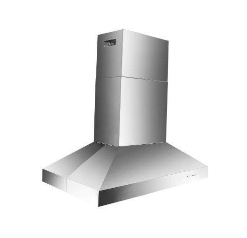 Z Line 697i-48-LED 1200 CFM Pro Island Range Hood with Baffle Filters, 48-Inch ()