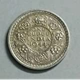 Collection House Very Rare 1944 British India Silver Coin