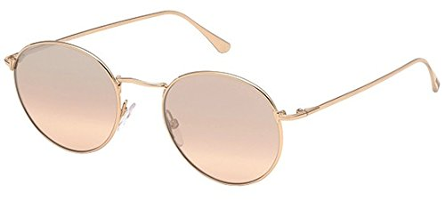 Tom Ford TF649 Ryan-02 Sunglasses Color 33Z Shiny ()