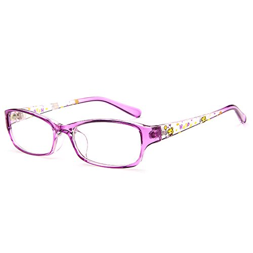 Fantia Kids Eyeglasses Stripe children Eyewear Student Glasses Age 3-12 - Glasses Girls Frames