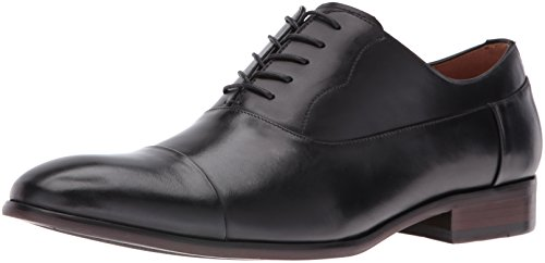 Steve Madden Men's Poter Oxford, Black, 7 M US