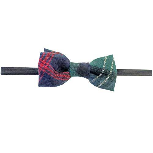 Ingles Buchan Boys Scottish Wool Tartan Pre-Tied Bow Tie Sutherland Old