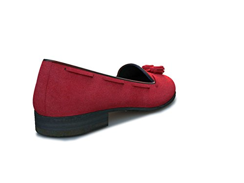 Dis - Giulietta – Mocasín Borlas – Mujer Rojo