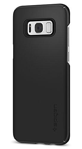 Galaxy S8 Plus Case / Galaxy S8 Plus Cases, Spigen Thin Fit - Premium Matte Finish Coating for Samsung Galaxy S8 Plus (2017) - Black