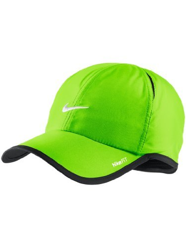 Feather Light Womens Hat (Nike Unisex Feather Light Adjustable Cap Lime Green)