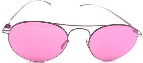 Mykita + Maison Martin Margiela MMESSE005 pink mirrored - Margiela Maison Glasses Martin
