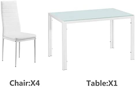 120x70x75CM Simple Assembled Tempered Glass Iron Dinner Table White Dining Table Coffee Table Modern Tea Kitchen Table Bar Table