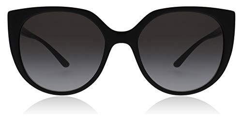 Dolce & Gabbana Women's Line Cat Eye Sunglasses, Black/Grey Gradient, One Size
