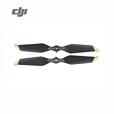 DJI Mavic Pro Platinum 8331 Low-Noise Quick-Release Propellers - Gold Tips - 2 Pairs: Camera & Photo