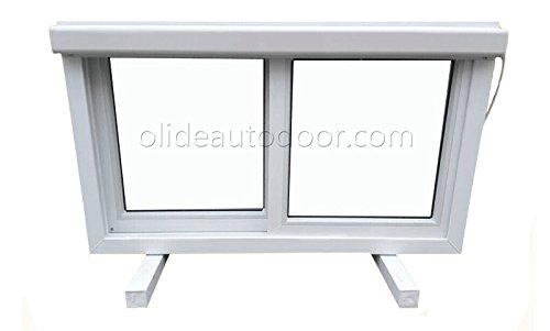 Olide Automatic Electric Sliding Window Openers Motors Actuators (Single Window Width 18inch Per Leaf) Window Opener