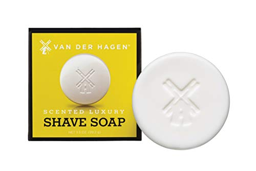 Van Der Hagen Men's Luxury Scented Soap, 3.5-Ounces (Pack of 3)